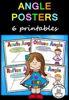 Maths Angle Posters Printables