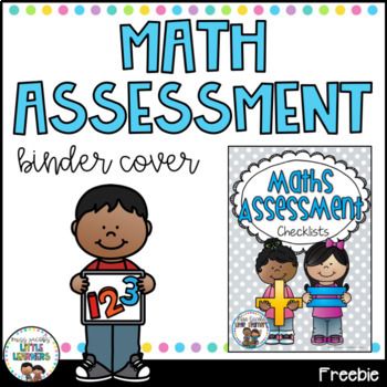 Maths Assessment Folder Cover FREE
