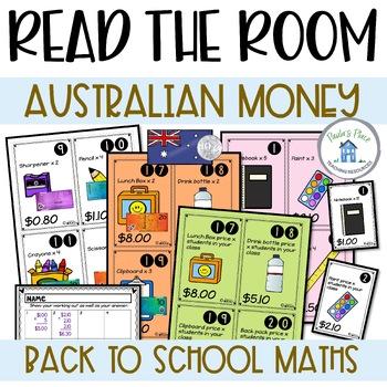 Back to School Maths (Aus Money)