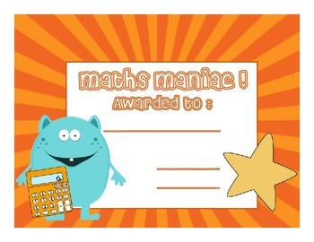 Maths Certificate