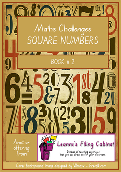 Maths Challenges SQUARE NUMBERS - Book 2