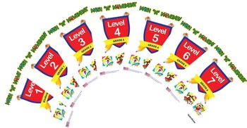 Math N Movement USA - Combined  - Levels 1 - 7 - Kindergar