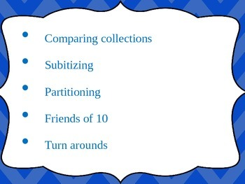 Maths Powerpoint-Collections,Subitising,Partitioning,Frien
