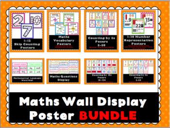 Maths Wall Display Poster BUNDLE