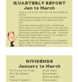 Maths activity: Stock Exchange! (Three lessons)