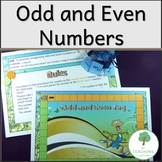 Maths odd and Even Number Tag Game