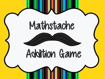Mathstache Addition Game/Center Primary Edition