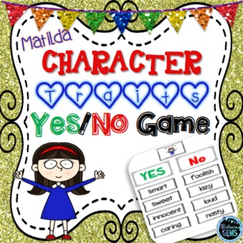 Matilda - Character Traits Game