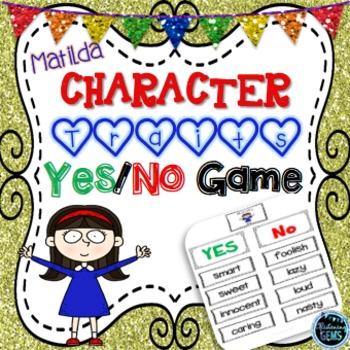 Matilda - Character Traits Game
