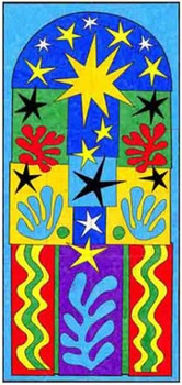 Matisse Christmas Mural