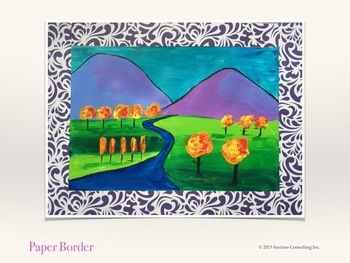 Matisse Inspired Landscape - Acrylic Paint Lesson