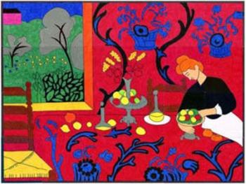 Matisse Red Room Mural