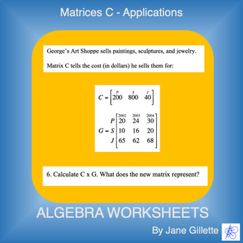 Matrices C