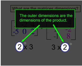 Matrix Add, Subtract & Multiply 4 Introductions + 5 Assign