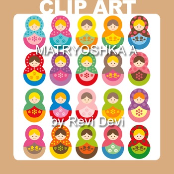 Matryoshka A 13021 (teacher resource) russian dolls