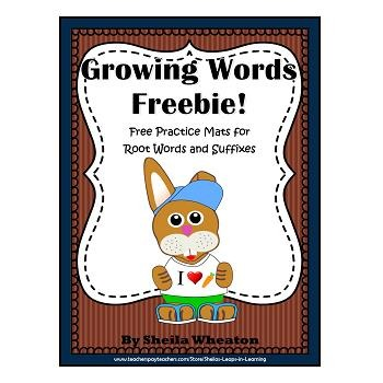 Mats for work on Root Words, Inflectional & Derivational Suffixes