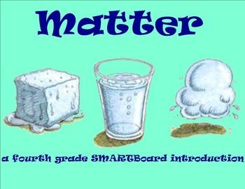 Matter - A Fourth Grade SMARTBoard Introduction