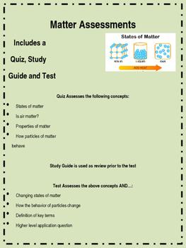 Matter Assessments