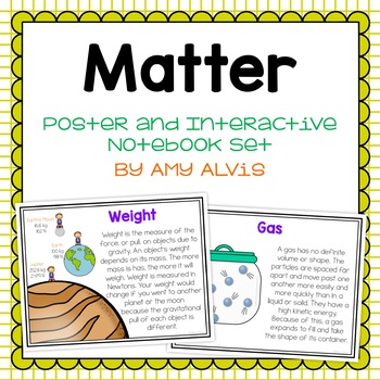 Matter Posters and Interactive Notebook Set