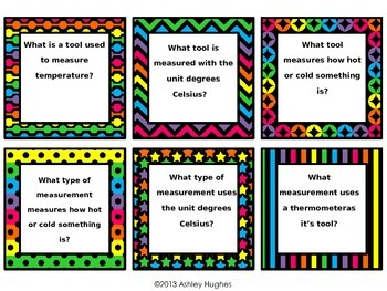 Matter Review Task Cards