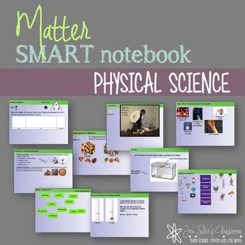 Matter SMARTnotebook notes