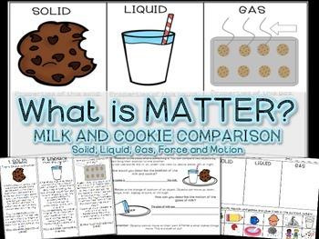 Matter: Solids, Liquids, Gas, Force and Motion