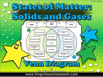 Matter: Solids and Gases - States of Matter Venn Diagram C