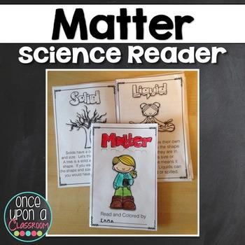 Matter - States of Matter Booklet Freebie!