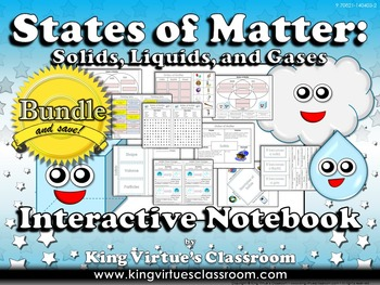 Matter: Interactive Notebook BUNDLE - States of Matter - S