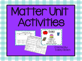 Matter Unit Activties