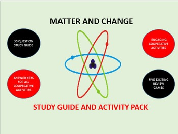 Matter and Change: Study Guide and Activity Pack