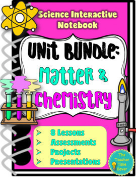Matter and Chemistry Unit Bundle- Physical Science Interac