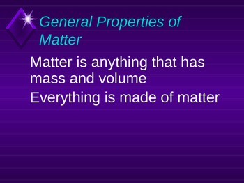 Matter and How it Changes Powerpoint