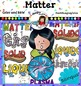 Matter clip art-Color and B&W- 70 items!