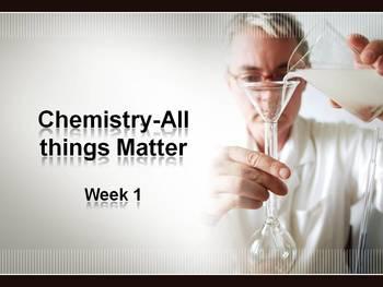Matter/Basic Chemistry Unit- Part 1