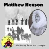 Matthew Henson PowerPoint Presentation. Co-discoverer of t