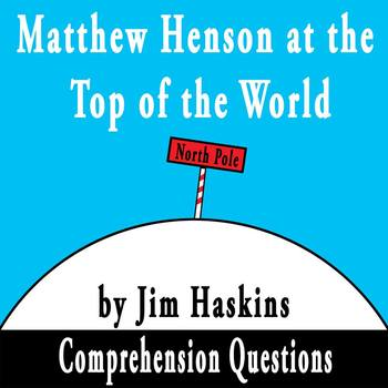 """Matthew Henson at the Top of the World"" by Jim Haskins Co"