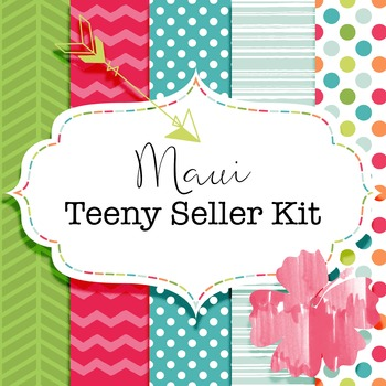 Maui Teeny Seller Kit