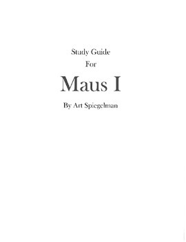 Maus I Study Guide