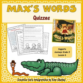 Max's Words - Quizzes