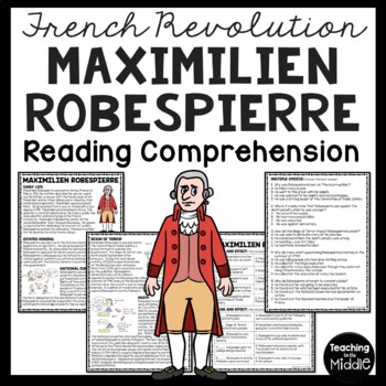 Maximilien Robespierre article & questions, French Revolut