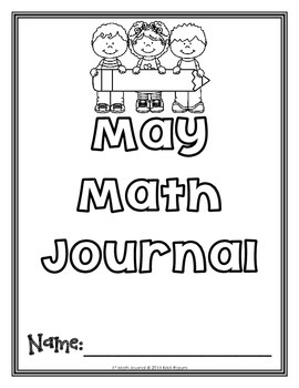 May 1s Math Journal