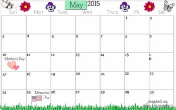May 2015 Calendars