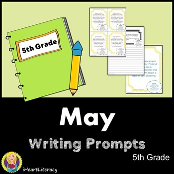 Writing Prompts May 5th Grade Common Core
