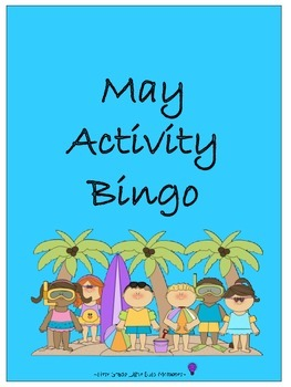 May Activity Bingo
