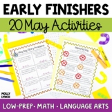 Early Finishers - May