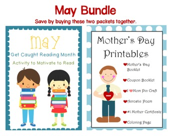 May Bundle~ Mother's Day and Get Caught Reading Month