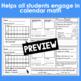 May Calendar Math Student Journal- 4th Grade Edition