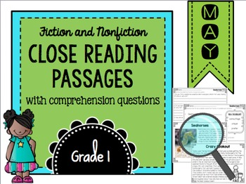 May Close Reading Practice