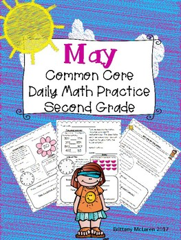 May Daily Common Core Math Practice for Second Grade